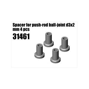 31461 ESPACIADOR PUSH-ROD D3X2MM-4PZAS