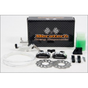 2010 KIT FRENO HIDRAULICO CROSS BAJA DOBLE PISTON MECATECH