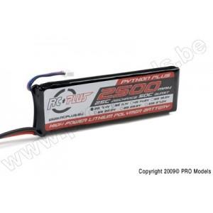 RC-A25-2500-2S1P BATERIA RC-PLUS 7,4- 2100