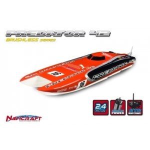 LANCHA NAVICRAFT PREDATOR 42 RTR 2.4GHZ, X-TREME BRUSHLESS POWER